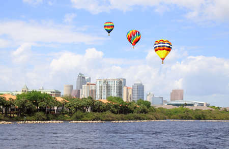 The city skyline of Tampa Florida on a cloudy day   Stock Photo - 6846069
