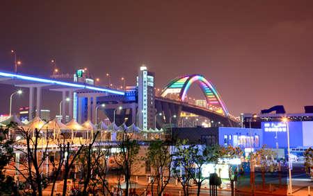 SHANGHAI - 10 juni: De VN-paviljoen op de grootste wereld tentoonstelling op 10 juni 2010 in Shanghai China.