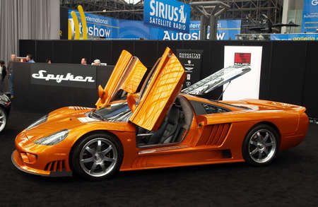 luxury cars: International Auto Show - 2007 in NYC (for editorial use only)