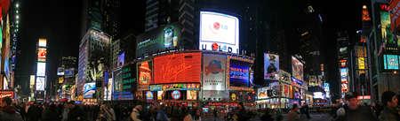 broadway show: La vista panoramica di Times Square a New York  Editoriali