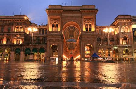 vittorio emanuele: The famous Gelleria Vittorio Emanuele II in central Milan