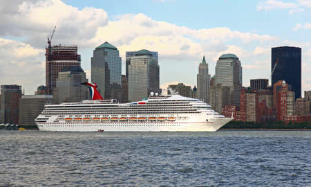 liner: The Carnival Victory cruise ship is leaving New York City on June 19, 2008