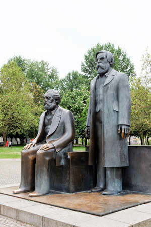 Marx Engels Forum in Berlin, Germany Stock Photo - 7383798