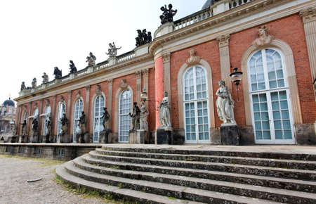 The New  Palace in Potsdam Germany on UNESCO World Heritage list Stock Photo - 7374355