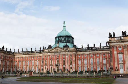 The New  Palace in Potsdam Germany on UNESCO World Heritage list Stock Photo - 7374357