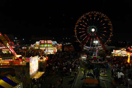 meadowland: New Jersey State Fair at Meadowland Sports Complex- largest carnival in the state on June 26-July 4, 2008
