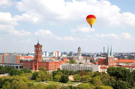 dom: vue a�rienne du Centre de Berlin du haut du Berliner Dom   Banque d'images