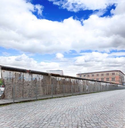 The remains of berlin wall in Berlin Gemany photo