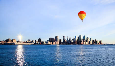 Lower Manhattan skylines New York City USA photo