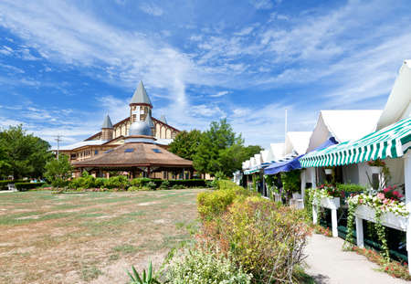 The auditorium in Ocean Grove - a small beach town New Jersey photo