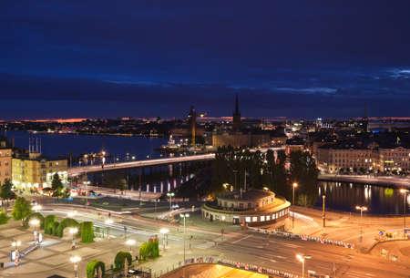 Het nationale Theater in Centraal Oslo, Noorwegen.  Stockfoto