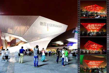 SHANGHAI - JUNE 10: The Germany Pavilion at the largest World Expo on June 10, 2010 in Shanghai China.