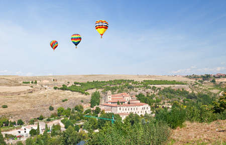 A general view of Segovia countryside in Spain  photo