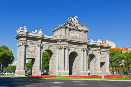 The Puerta de Alcala in Madrid, Spain Stock Photo - 8162920