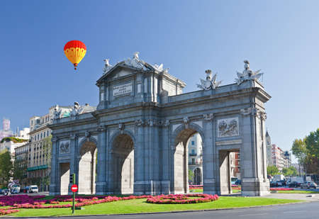 The Puerta de Alcala in Madrid, Spain photo