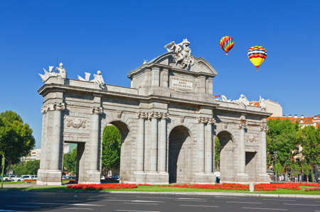 The Puerta de Alcala in Madrid, Spain photo