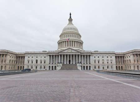 워싱턴 DC에서 미국 국회 의사당 건물