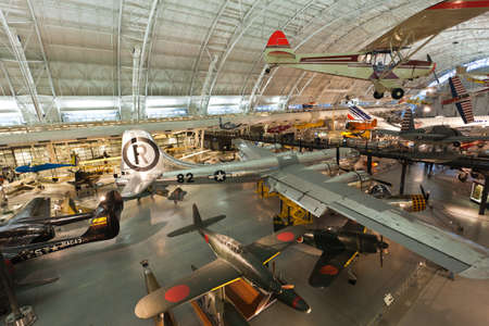 CHANTILLY, VA - FEBRUARY 21: the Steven F. Udvar-Hazy Center is the new addition to the National Air and Space museum in Washington DC, which opened in Dec. 2003.