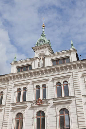 The city center of Uppsala in Sweden  Reklamní fotografie