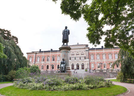 education in sweden: The famous Uppsala University in Sweden - the oldest university in Scandinavia