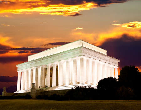 The Lincoln memorial in Washington DC USA Stock Photo - 9177726
