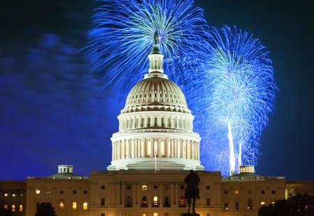 Verenigde Staten-Capitool in Washington DC Stockfoto