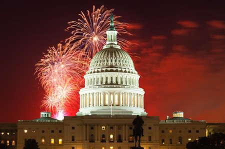 Campidoglio degli Stati Uniti a Washington DC Archivio Fotografico