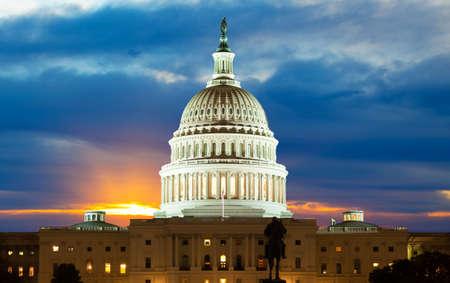 Campidoglio degli Stati Uniti a Washington DC Archivio Fotografico - 9177791