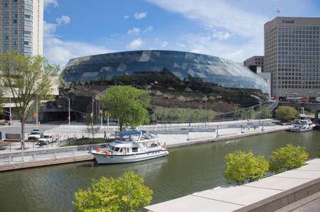 The Convention Centre in Ottawa, Ontario, Canada