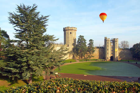 Warwick castle - a day trip from London in UK
