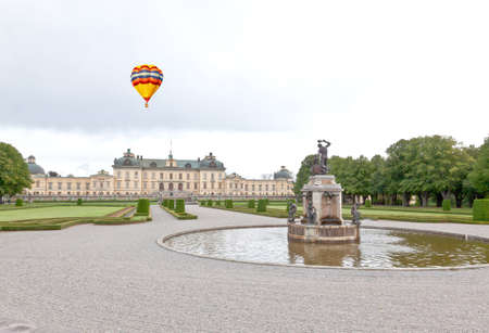 Drottningholms Palace in the Stockholm city, Sweden Editorial