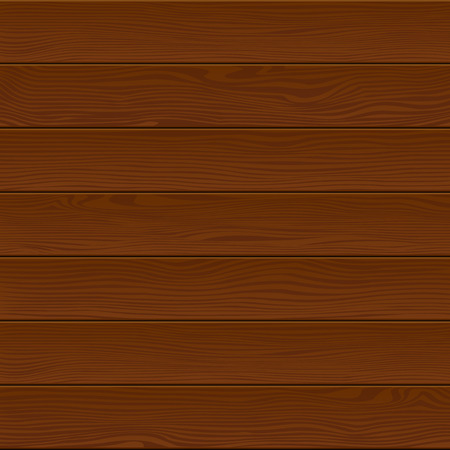 Vector wooden background. Dark coloured wooden planks.