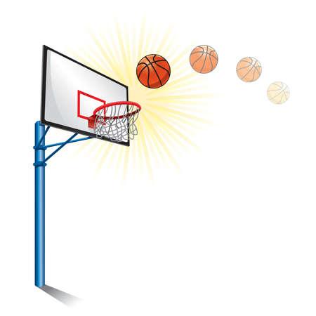 basketball hoop: basketball stand