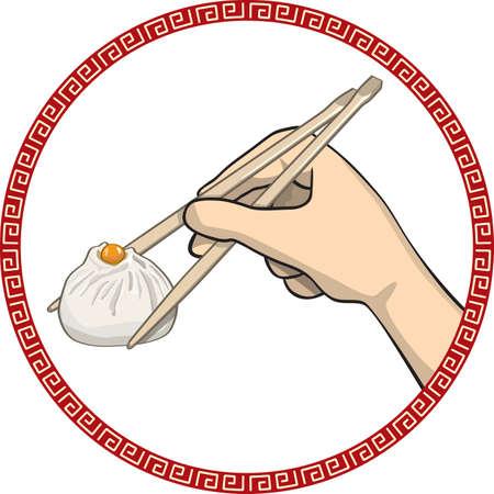 клецка: китайская еда