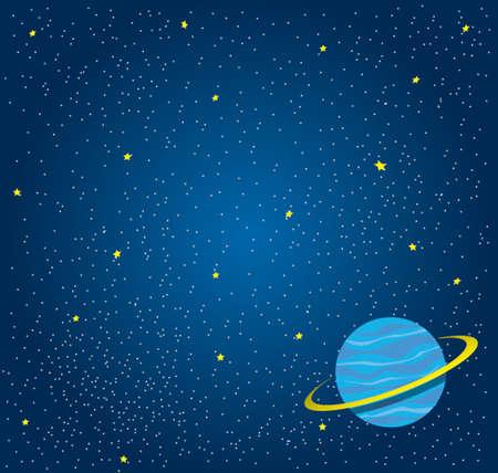 fond de l'espace