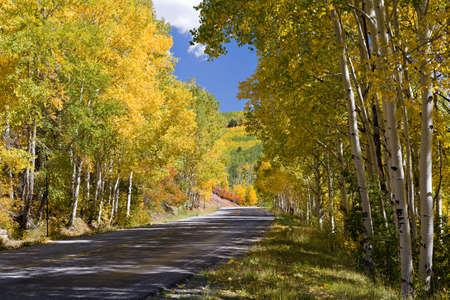 Beautiful Scenery of the Colorado Rocky Mountains Stockfoto