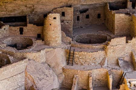 Mesa Verde Cliff Dwellings of the Anasazi