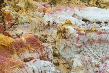 The Calhan Paint Mines. Unique and Colorful Ancient Geological Site in Colorado.