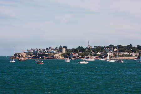 dun: sailboats in the harbour, dun laoghaire, ireland