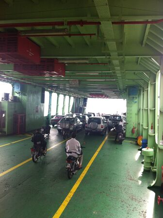 interior: Interior view of Penang Ferry