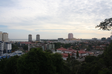 melacca: View of Melacca Town
