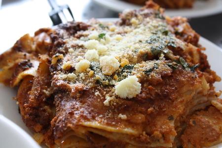 Beef Lasagne photo