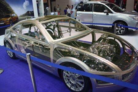 the latest models: Kuala Lumpur International Motor Show 2013