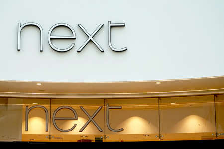 retail therapy: Basingstoke, UK - January 06 2017: Exterior of the new NEXT store in Festival Place Basingstoke Editorial