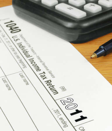 Form 1040 Income Tax Return for 2011