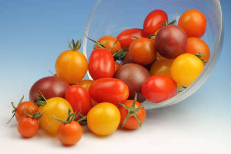 heirloom: Cherry Tomatoes Stock Photo