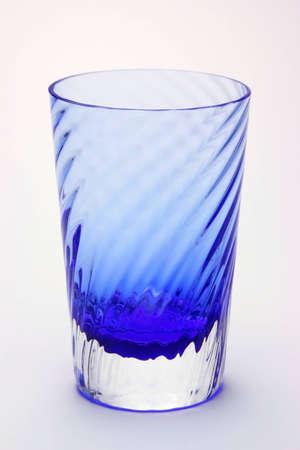 Blue Water Glass Standard-Bild - 11546686