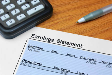 earnings: Earnings Statement