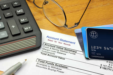 Account Statement and Generic Credit Cards