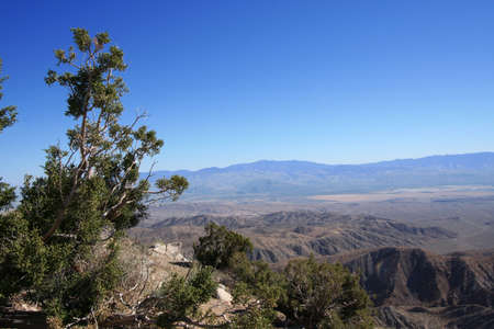 Coachella Valley from Keys View, Joshua Tree National Park photo